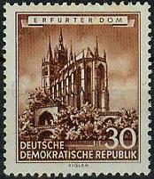 30 Pf ErfurtDOM 495