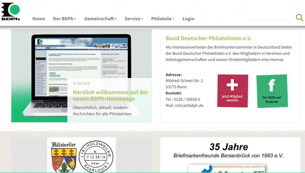 BDPh-Neue Homepage