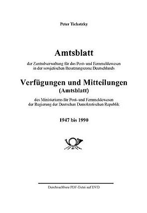 DDR-Amtsblatt 1947-1990