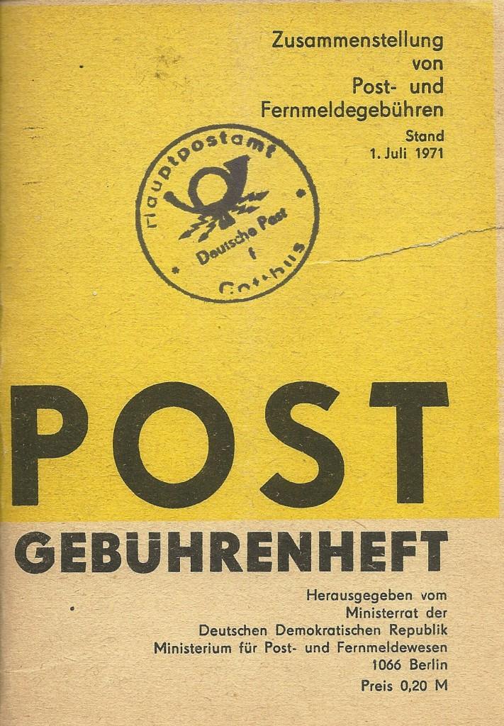 DDR-Gebührenheft 1.7-1