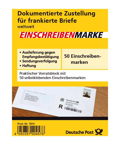 Einschreibenmarke_50er-Block