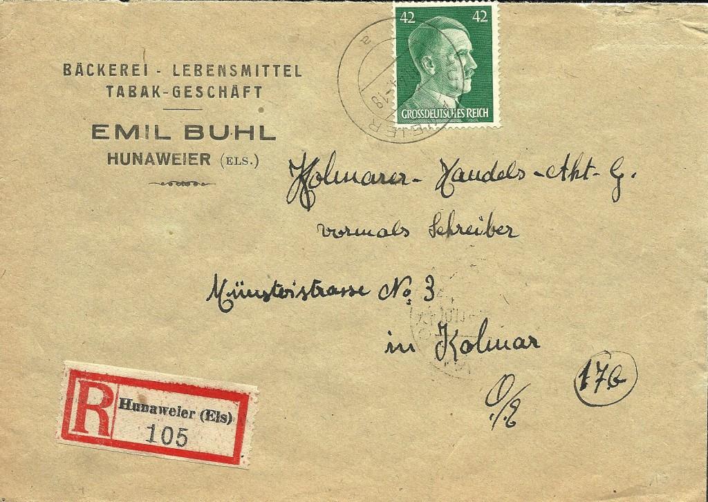 Hitler 42 Pf R-Elsaß-vs