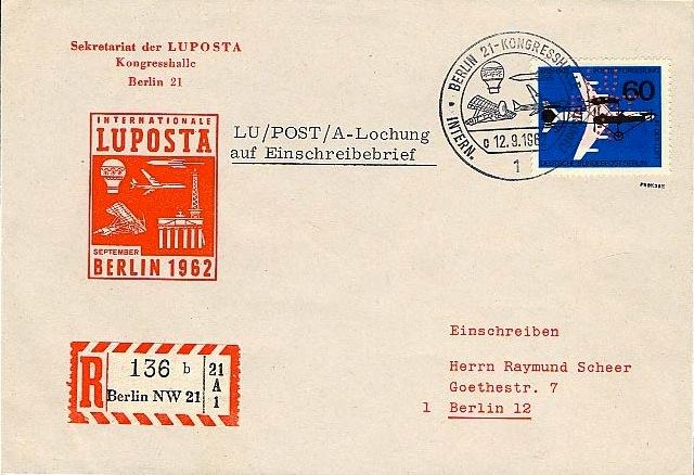 LUposta m LochR-Brief